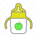 baby, bottle, child, drinking, feeding bottle, infant, sippy cup icon