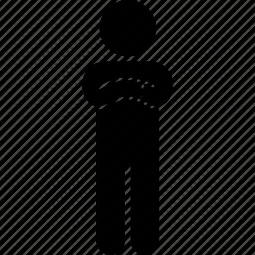 child, impatient, kid, patient, standing, waiting icon