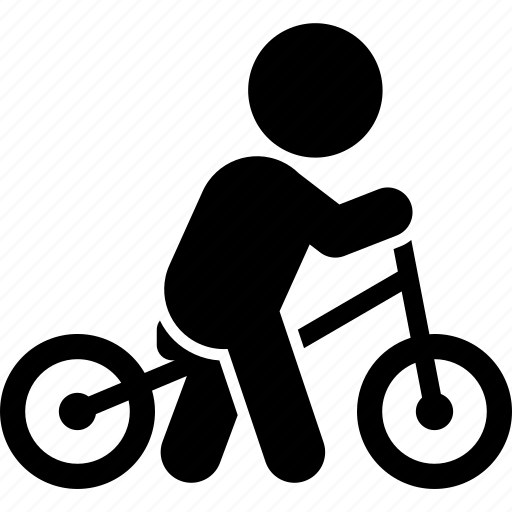 balance, balancing, bicycle, bike, training icon