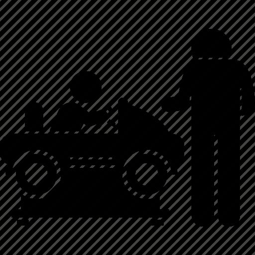 car, children, coin, machine, ride, slot, toy icon