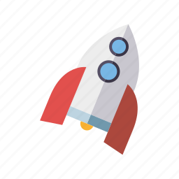 playing, rocket, science, space, spaceship, toys icon