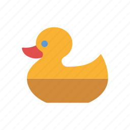 bath, duck, ducky, playing, rubber, rubber duck, toys icon