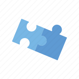 game, jigsaw puzzle, pieces, playing, toys icon
