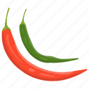 chili pepper, chilies, hot pepper, hottest pepper, pepper icon