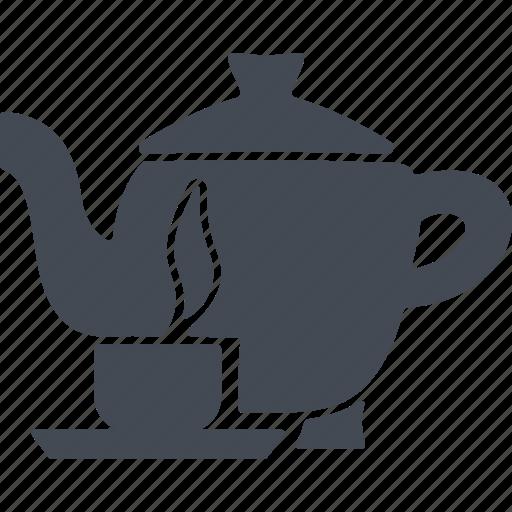 china, tea, teakettle, teapot icon