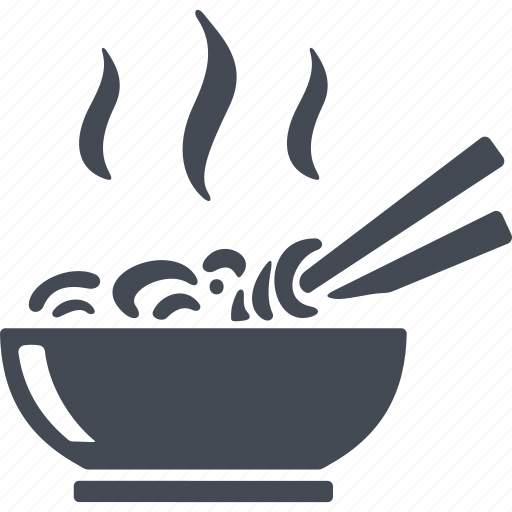 China Cutlery Noodles Soup Icon Download On Iconfinder