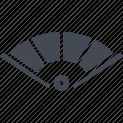 air, china, fan, manual fan icon