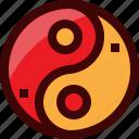 china, chinese, religion, sign, symbols, tao, yin yang icon