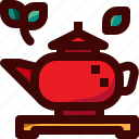 china, drink, hot, mug, plant, pot, tea icon