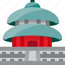 architecture, building, china, chinese, landmark, monument, temple of heaven icon