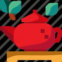 china, drink, hot, mug, pot, tea