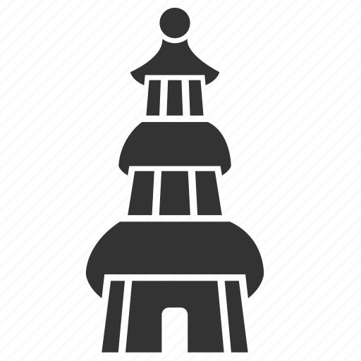 architecture, asian, building, china, chinese, pagoda, tower icon