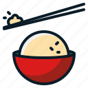 chinese, food, rice icon