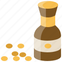 food, bean, chinese, ingredients, soy, sauce icon