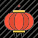 chinese, lamp, lantern, light, new, year icon