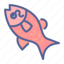 chinese, fish, luck, new year icon
