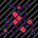 amulet, chinese, decoration, knot icon