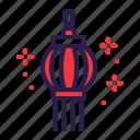 chinese, decoration, festival, lantern icon