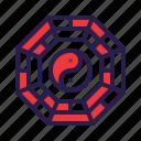 feng, shui, yang, yin icon