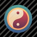 sign, banlance, chinese, yinyang, newyear, china