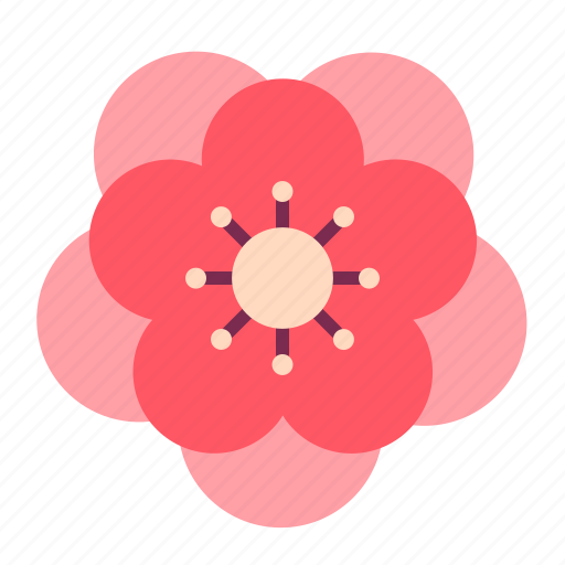 Blossom, chinese, flower, newyear, peach, plum icon - Download on Iconfinder