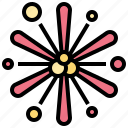 celebration, explosion, festival, firework, holiday icon