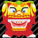 beijing, celebration, china, dance, lion, new, year