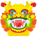 china, chinese, dance, dragon, traditional icon