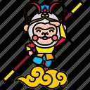 chinese, king, monkey, sun, sun wukong, wukong
