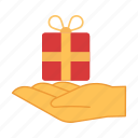 box, chinese, gift, give, new year, present, surprise icon
