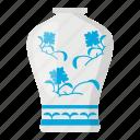 chinese, ceramics, antique, china, porcelain, traditional, vase icon