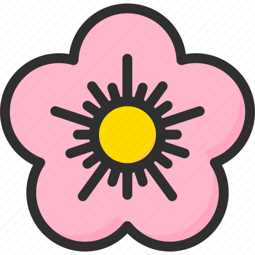 asian, chinese, flower, lotus, new, year icon