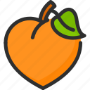 asian, chinese, mandarin, new, orange, year icon