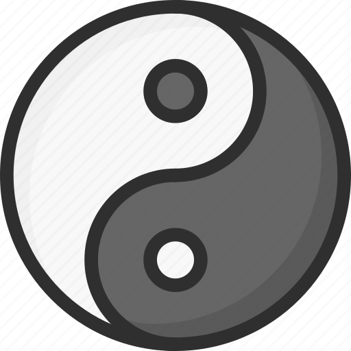 asian, chinese, new, yang, year, yin icon