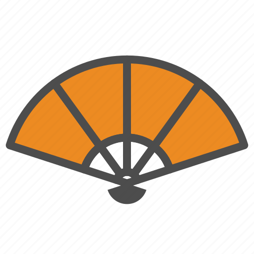 chinese, fan, new, year icon