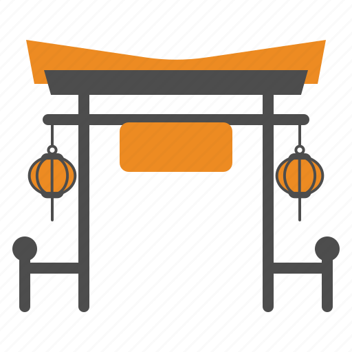 Celebration, chinese, gate, new, year icon - Download on Iconfinder