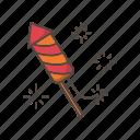firework, firecreacker, chinese, new, year, festival