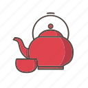 teapot, chinese, new, year, festival