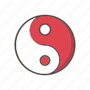 yin, yang, chinese, new, year, festival