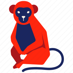 animal, ape, chimp, chinese zodiac, macaque, monkey, year icon