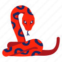 animal, chinese zodiac, python, reptile, serpent, snake, year icon