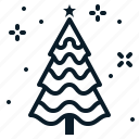 christmas, decoration, fir, holiday, ornament, tree, winter icon