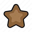 cake, chocolate, food, snack icon