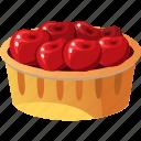 cherries, cherry, cherry fruit, fruit cherry icon