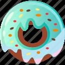 donut, donute, donutes, doughnut, doughnuts, food doughnut icon