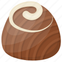 candy, chocolate, praline, snack, truffle icon