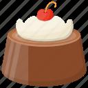 birthday cake, black forest cake, chocolate fudge, creamy chocolate dessert, dark chocolate icon