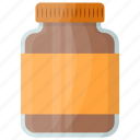 chocolate serum, chocolate spread, chocolate syrup, cocoa liquid, melted chocolate icon