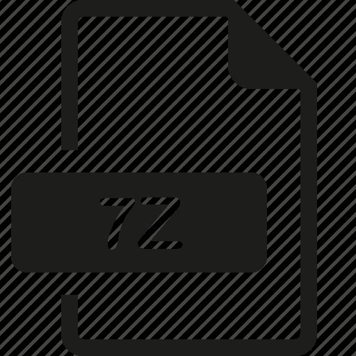 7z, file, format icon