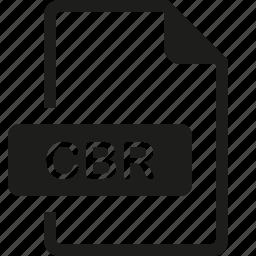 cbr, file, format icon